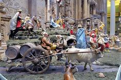 The Carnegie Museum of Art rings in the Christmas season with an elaborate Nativity tradition that originated in Naples, Italy. The Holy Family takes pride of place, but what makes a Neapolitan presepio unique is the addition of scenes and figures representative of the bustling, cosmopolitan 18th- century port city.