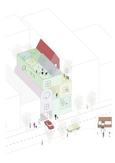 Image 68 of 126 from gallery of The Best Architecture Drawings of 2017. © MAPAA