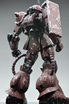 MS-06S Zaku II Ver.Damage
