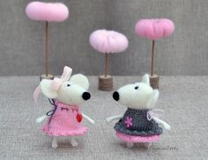 Needle felted mouse Needle felted animal MADE TO by NeighborKitty