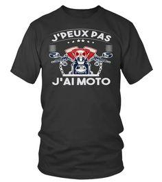 J'Peux Pas J'ai Moto Drôle Cadeau Humour Motorcycle Motard T-Shirt, Hoodie ,Sweat À Capuche Unisexe, Sweater, Col Rond Femme, Manches Longues, Premium, Enfant | Teezily | Achetez, créez et vendez des tee-shirts qui vous ressemblent Tee Shirts, Sweatshirt, Mens Tops, Fashion, Kid, Woman, Unisex, Hoodie Sweatshirts, Round Collar