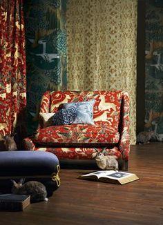 Inspiration Lady & Unicorn Tapestry Cluny / Met Museum  #emart #emdining