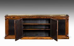 Regency Period Rosewood Side Cabinet