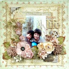 *New Prima* life - Scrapbook.com Prima - Romantique Collection
