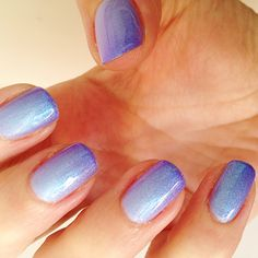 How to get DIY purple gradient nails