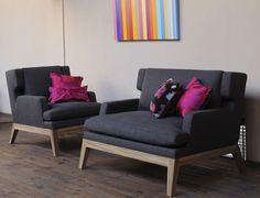 David Manien - tapissier décorateur lyon - création de mobilier contemporain et design | Monaco - Fauteuil et Canapé 2 ou 3 places