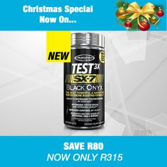 Muscletech SX7 Test 3X Black Onyx Increase Testosterone, Testosterone Levels, Cortisol, Black Onyx, Products, Gadget