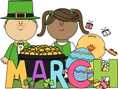 March 2015 Calendar Monthly Events in US. – Free Printable 2020 Monthly Calendar with Holidays March 2015 Calendar, Art Calendar, March Holidays, Holidays And Events, St Patricks Day Clipart, New Month Wishes, Preschool Newsletter, Classroom Birthday, Calendar Pictures