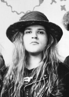 andrew wood, lead singer of Mother Love Bone, the band from which sprang forth the era of grunge.  Tragically Andy died as a result of complications of a heroin overdose and never saw the release of their first album, he was 24.