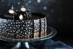 Túró rudi mousse torta mintás csokilapokkal  Chocolate-cottage cheese mousse cake