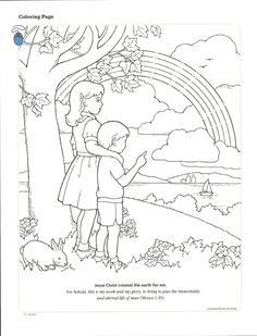 lds primary coloring pages can follow jesus example activity from the july 2010 friend - I Can Be A Friend Coloring Page