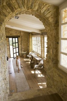 Wood, metal, stone, house in Provence