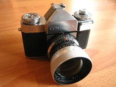 Contaflex 35mm slr camera