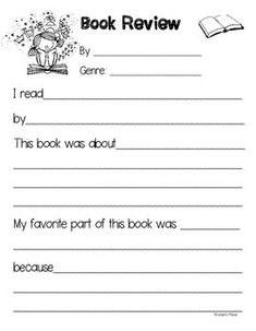 BOOK REVIEW FREEBIE! Create your own class book club! A great opportunity for children to read and review books for their classmates. You can combine these into a binder for the class to utilize as book recommendations.