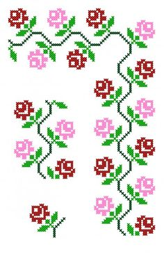 1 million+ Stunning Free Images to Use Anywhere Simple Cross Stitch, Cross Stitch Borders, Cross Stitch Flowers, Cross Stitch Designs, Cross Stitch Patterns, Folk Embroidery, Cross Stitch Embroidery, Embroidery Patterns, Dimensions Cross Stitch