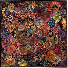 """2009 calendar, """"Quilts: A World of Beauty"""""""
