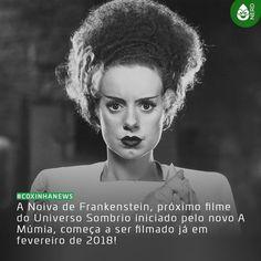 #CoxinhaNews Mas até o momento ainda não foi divulgado o nome da protagonista do filme!  #TimelineAcessivel #PraCegoVer  Imagem da Noiva do Frankenstein (Elsa Lanchester) do filme de 1935 e a notícia: A Noiva de Frankenstein próximo filme do Universo Sombrio iniciado pelo novo A Múmia começa a ser filmado já em fevereiro de 2018!  TAGS: #coxinhanerd #nerd #geek #geekstuff #geekart #nerd #nerdquote #geekquote #curiosidadesnerds #curiosidadesgeeks #coxinhanerd #coxinhafilmes #filmes #movies…