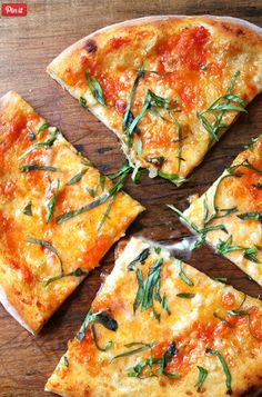 Recipe: Pizza Margherita, Homemade Tomato Sauce, Homemade Ricotta