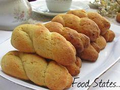 Κουλουράκια νηστίσιμα (αφράτα) - Food States Cooking Cake, Snack Recipes, Chips, Cookies, Sweets, Vegetables, Desserts, Food, Greek