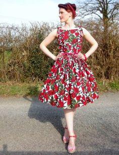 Cute dress and photo.