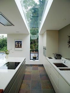Modern Kitchen Design : Jane Duncan Architects in Amersham Extensions / Alterations Great Missenden Kitchen Interior, Home Interior Design, Kitchen Design, Cosy Interior, Kitchen Ideas, Kitchen Pictures, Style At Home, House Extensions, Kitchen Extensions