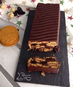 Pastel De Galletas Digestive Y Chocolate ~ Sin Horno