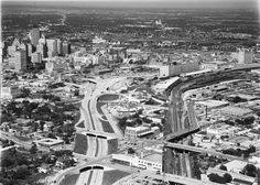 1950 view of downtown Fort Worth Photo Scan, Across The Border, Fort Worth Texas, Interesting History, Family Photos, City Photo, America, God, Places