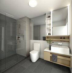Beautiful spacious bathroom