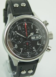 Revue Thommen Pilot Chronograph Day Date for 1,395 € for sale from a Trusted Seller on Chrono24