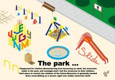 The Park 公園のイラスト