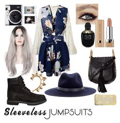"""""""layer your jumpsuit"""" by iasnitorh ❤ liked on Polyvore featuring Timberland, Miss Selfridge, Chloé, Rachel Entwistle, rag & bone, Marc Jacobs, Alexander McQueen, Fuji and sleevelessjumpsuits"""