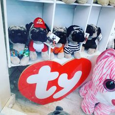 Doug The Pug I spotted in a toy shop window recently thought they were cool! I want the prisoner looking one with pug life on his hat! Happy Sunday smash it!!! #reseller #resale #windowshopping #toys #ty #plush #plushtoys #dougthepug #puglife #pugs #pug #dogs #stuffedanimals #hustlesmarternotharder #hustle #grind #flip #entrepreneur #business #smashit #sundayfunday #sunday #kinsellatrading #iwant