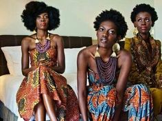 I ❤ African print w/ modern design! Not my momma's African outfits of the past. Via Mbele TV on FB African Inspired Fashion, African Print Fashion, Africa Fashion, Fashion Prints, African Prints, Fashion Styles, Fashion Ideas, African Patterns, African Textiles