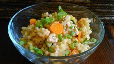 Tarhoňa s kuřecím masem, mrkví a cuketou
