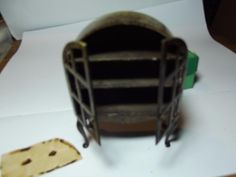 Pre War Boxed Tri Ang Period Dolls Furniture China Cabinet Art Deco Dolls  House