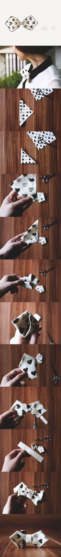 DIY / bow tie