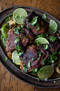 ... lime chicken thighs these cilantro lime chicken thighs are crispy