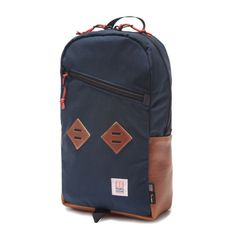 topo_designs_daypack_navy_leather. maybe for my travels