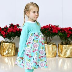 Raglan Free Dress Pattern - Dress for girls, kids clothes diy, making kids clothes, diy dress pattern, dress pattern diy