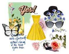"""""""from nice"""" by lorena-castro90265 ❤ liked on Polyvore featuring beauty, New Look, Accessorize, Maison Michel, Fendi and Anya Hindmarch"""