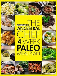 Paleo Meal Plan-check out buffalo chicken casserole