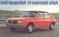 1977 Alfa Romeo Alfasud 5M Brochure