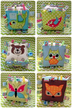 baby soft toy, fox, bear, bird, fish, butterfly, owl, Love Colors by Julianna Rencés Kovács https://www.facebook.com/LoveColorsByJuliannaRencesKovacs