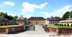 Oranienbaum Castle in the Garden Kingdom of Dessau-Wörlitz
