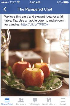 What a neat idea!!!! http://pamperedchef.biz/ladybug515