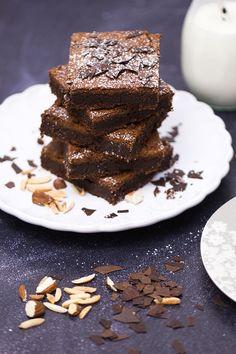 Brownies mit gerösteten Mandeln | verzuckert-blog.de
