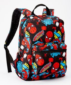 Another great find on Spider-Man All-Over Backpack by Spiderman Spiderman Outfit, Spiderman Backpack, Marvel Backpack, Men's Backpack, Marvel Fashion, Marvel Clothes, Backpack For Teens, Little Boy Fashion, Vera Bradley Backpack