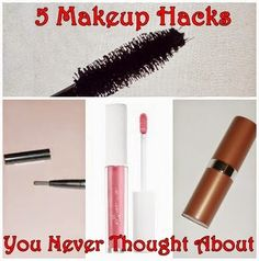 Dear Kitty Kittie Kath- Beauty, Fashion, Lifestyle, and Mommy Blog: 5 Makeup Hacks You Never Thought About