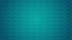 2048x1152 Wallpaper circles, turquoise, texture, pattern, surface