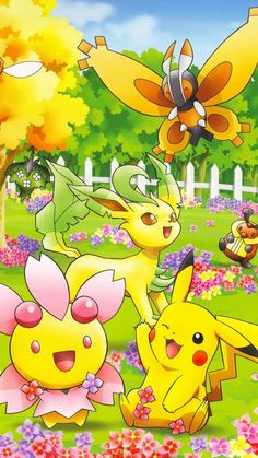 Cute Pokemon on iPhone 7 Wallpaper with Colorful Natures Background - HD Wallpapers Touko Pokemon, All Pokemon, Pokemon Guide, Iphone 7 Wallpapers, Free Hd Wallpapers, Art Pikachu, Mercedes Wallpaper, Pokemon Poster, Wolf Spirit Animal